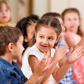 Preschoolers,Playing,In,Classroom.